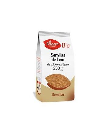 EL GRANERO SEMILLA DE LINO BIO.250G