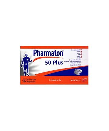 PHARMATON  5O PLUS 30 CAPSULAS CN: 154540