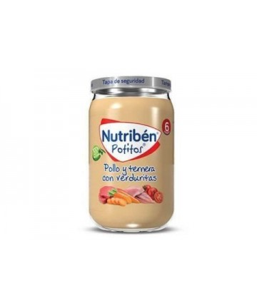 NUTRIBEN POTITO POLLO Y...