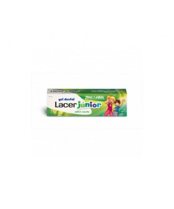 LACER GEL JUNIOR MENTA 75 ML CN.155588.